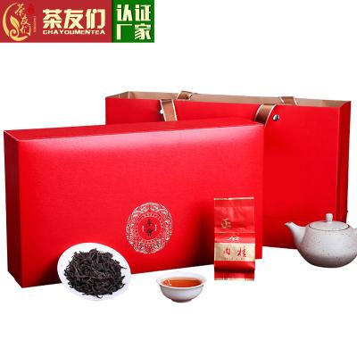 武夷山正岩肉桂武夷岩茶一级大红袍茶叶果香乌龙茶礼盒装250克