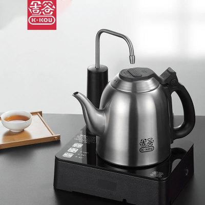 吉谷旗舰店TB0302自动上水电水壶电热煮茶壶恒温家用不锈钢烧水壶
