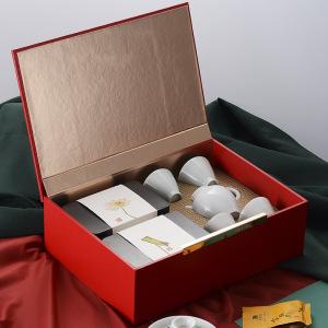 【茶具套装】武夷山金骏眉红茶 160g茶叶袋装礼盒装 茶礼精选