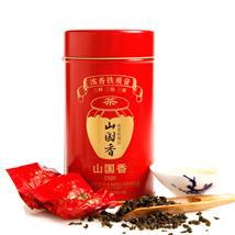 山国饮艺 茶叶 浓香型铁观音 安溪铁观音礼盒装 秋茶 山国香S500