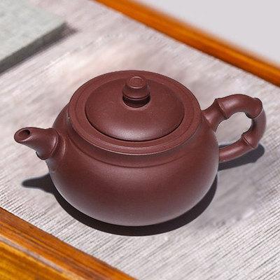 正宗宜兴紫砂壶紫砂壶茶壶茶具茶杯套装原矿紫泥容量300毫升名人紫砂壶
