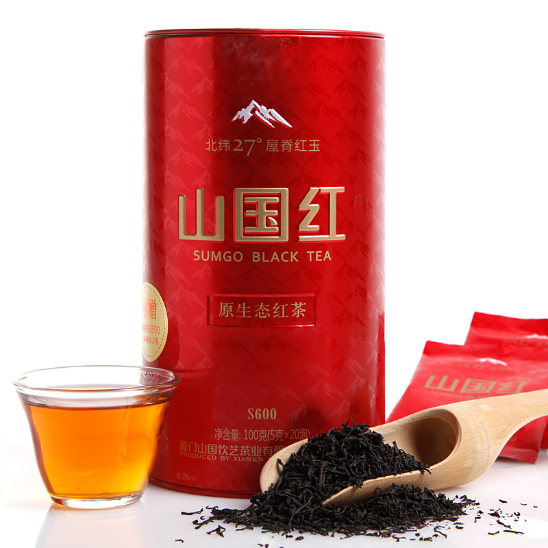 山国红原生态红茶S600