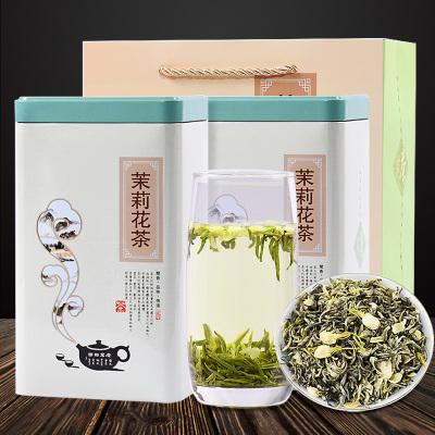 茉莉花茶具有安神解抑郁健脾理气抗老化抗辐射,提高机体免疫力的功效一斤装