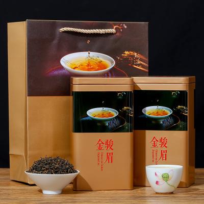 正坛 金骏眉红茶浓香型春茶2021新茶金骏眉罐装/礼盒装500g 包邮