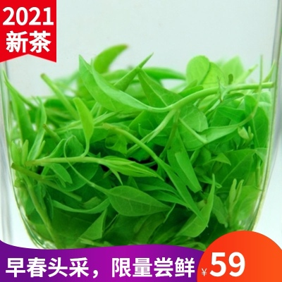 2021新茶青山绿水特级贵州余庆野生正品嫩芽发酵四川峨眉小叶苦丁