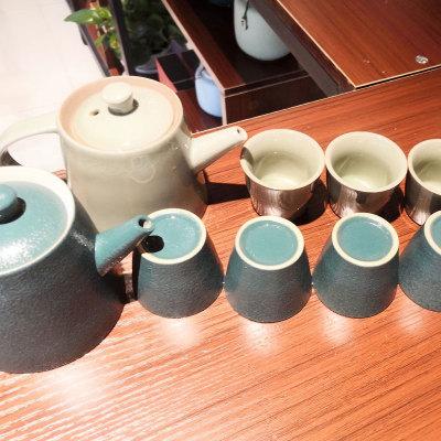 茶壶全套,一壶六杯