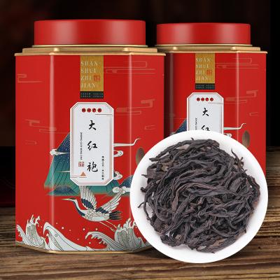 2021新茶大红袍茶叶正宗武夷山岩茶果香肉桂散装乌龙茶浓香型罐装