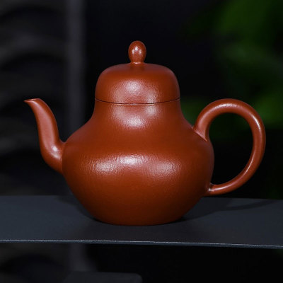 【思婷】 传统全手工制 180cc 小煤窑顶级朱泥大红袍