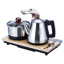 越一K68自动上水电热烧水壶茶炉全自动304不锈钢茶具套装