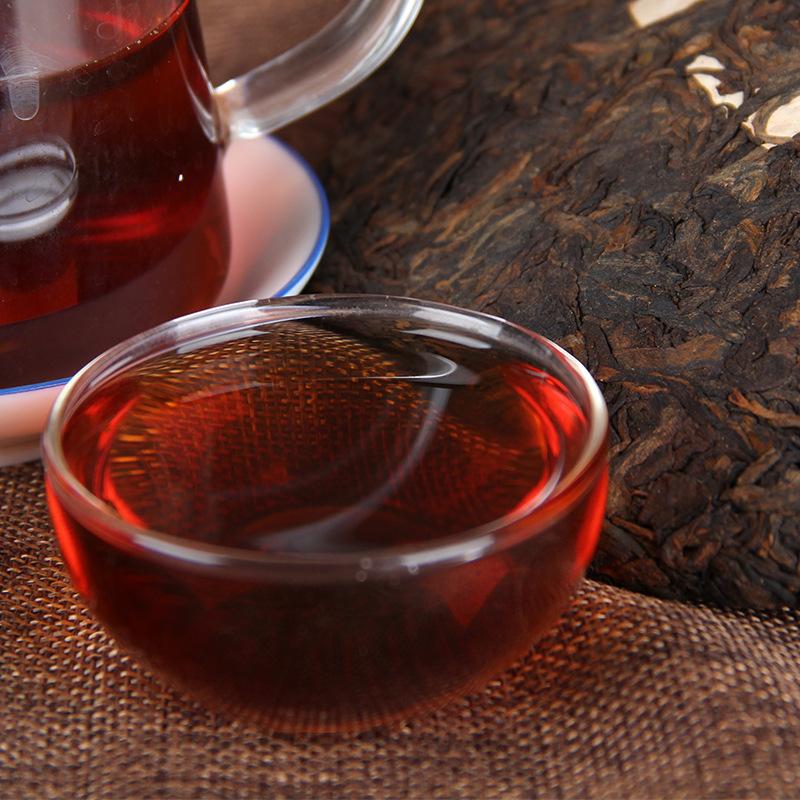 普洱茶 云南勐库茶叶 冰岛古树茶 357g普洱茶 熟茶