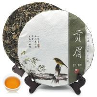 2015年福鼎白茶贡眉饼高山日晒枣香老白茶陈年茶叶