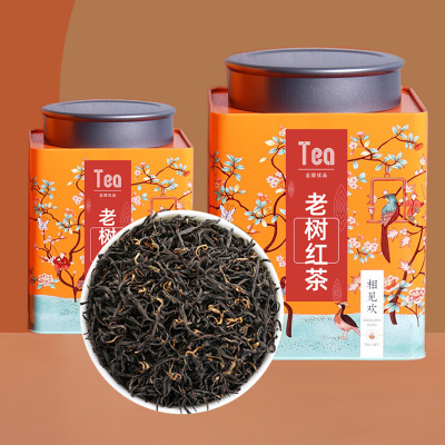 高山生态红茶2021新茶罐装散茶浓香型工夫红茶高山老树中国红茶