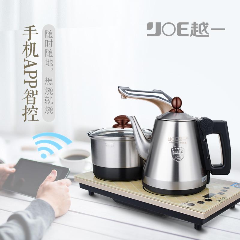 越一全智能健康泡茶炉电磁炉K68一键304不锈钢上水烧水壶茶艺炉