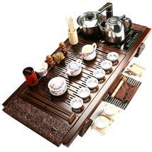 茶具整套电磁炉实木茶盘功夫茶海茶台套装四合一