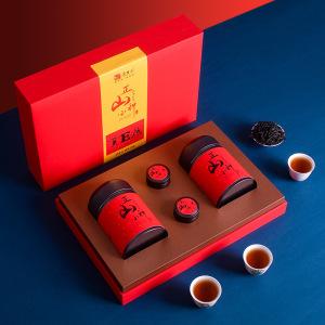 武夷山正山小种红茶礼盒 桐木关红茶 中秋送礼 礼盒装220g