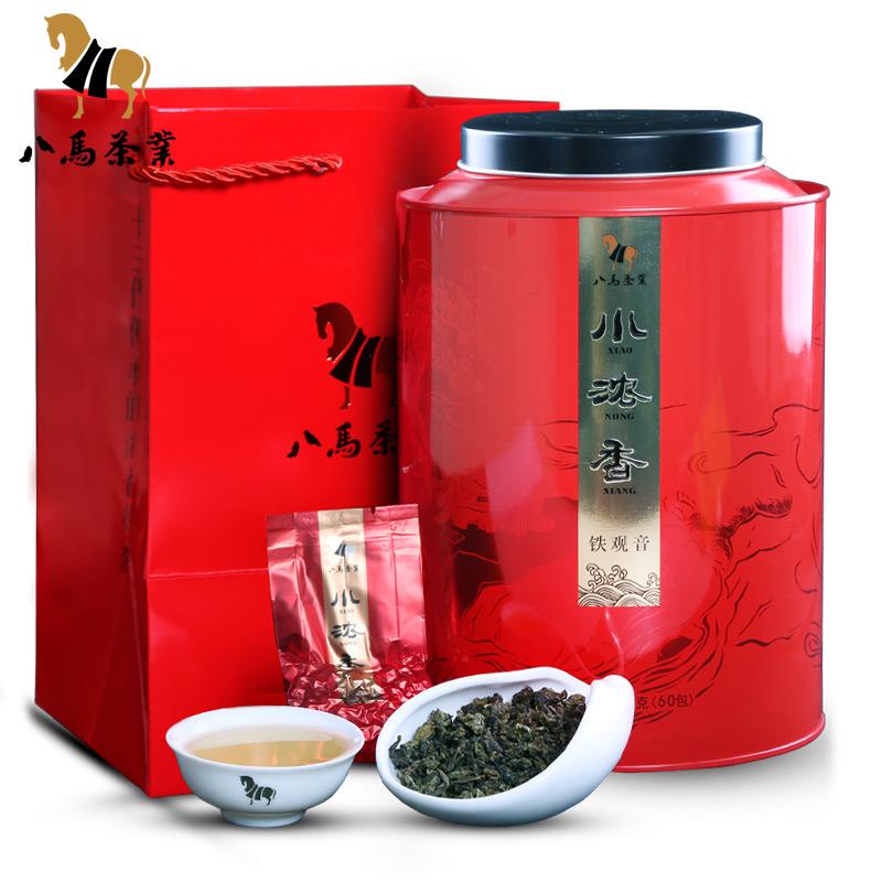 铁观音批发 特级茶叶安溪浓香型乌龙茶 小浓香新茶礼盒铁盒装500g