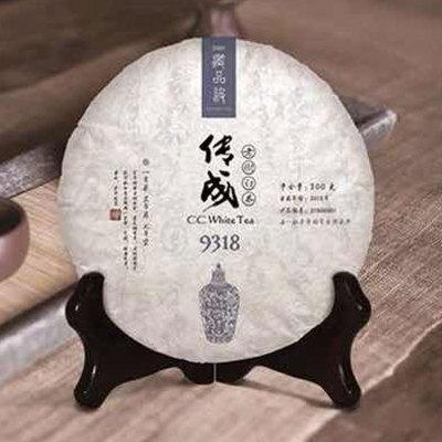 2015经典藏品级 传成老树白茶9318 福鼎老白茶饼特级白牡丹茶叶