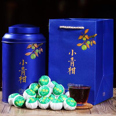 标友小青柑橘普洱茶桔普茶新会陈皮熟茶叶礼盒罐装500克