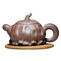 宜兴正宗紫砂壶 茶壶 茶具 原矿正品名家全手工薄胎莲蓬壶