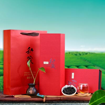 福建武夷山320g袋装浓香型大红袍礼盒装 闽北乌龙茶叶批发 包邮