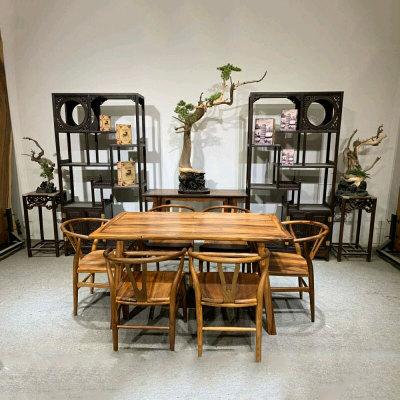 南美胡桃木现代简约茶桌 七件套 大量款式现货详询客服