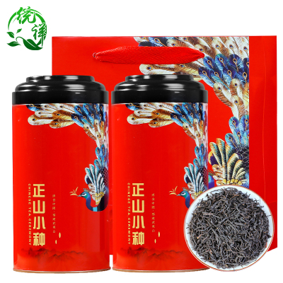 统祥正山小种红茶一级2021新茶浓香正宗武夷山散装500g茶叶礼盒装