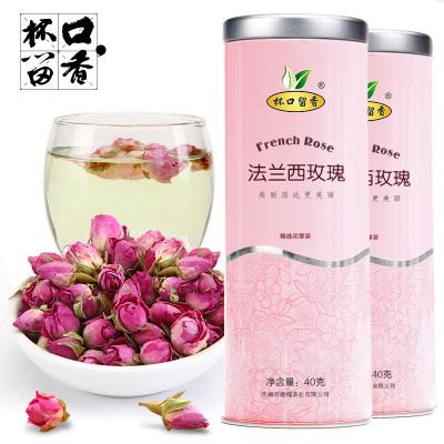 杯口留香 玫瑰花茶 粉红法兰西玫瑰 花草茶 女人茶 花茶