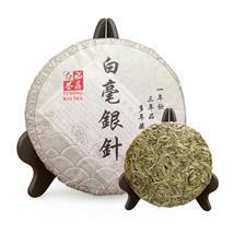 2016福鼎白茶白毫银针 优质月光白料压制茶饼 福建特产厂家批发