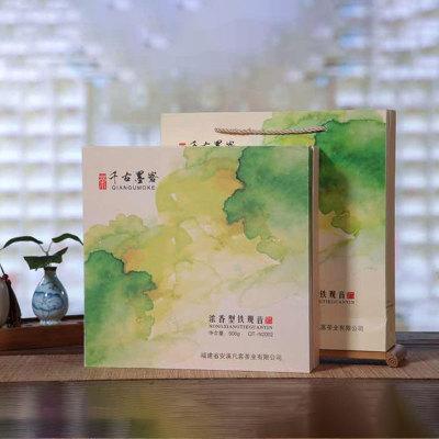 茶私章 N2002  浓香型 炒米香正宗安溪铁观音(500g)