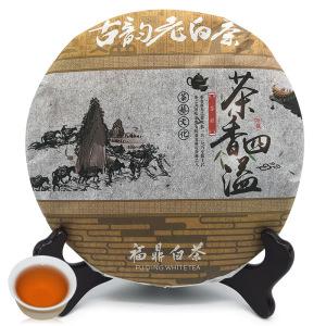 2013年福鼎白茶老白茶饼贡眉饼高山日晒枣香显