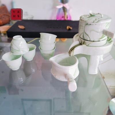 石纹懒人自动茶具