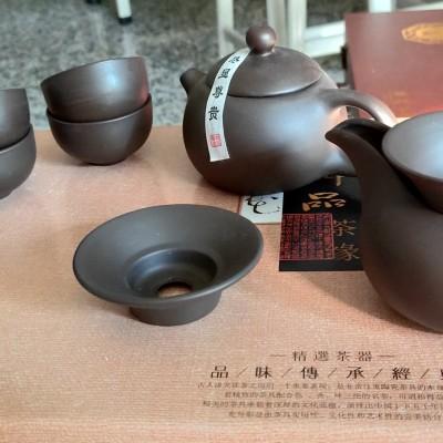 紫砂茶碗茶壶组合装