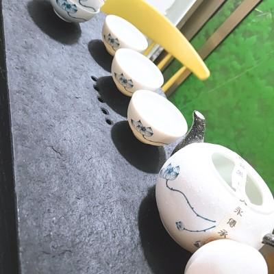 雪花釉茶道组