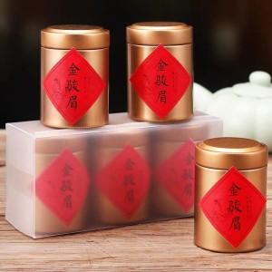 拍下16.9元 蜜香型金骏眉 新茶春茶 武夷山红茶 茶叶 小罐装 散装
