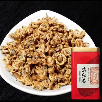 滇红金螺茶 特级 云南凤庆红茶 250克蜜香金螺滇红茶礼盒随时更新