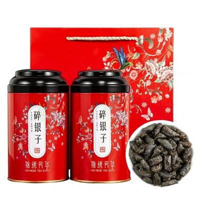碎银子茶化石特级普洱茶糯米香500g