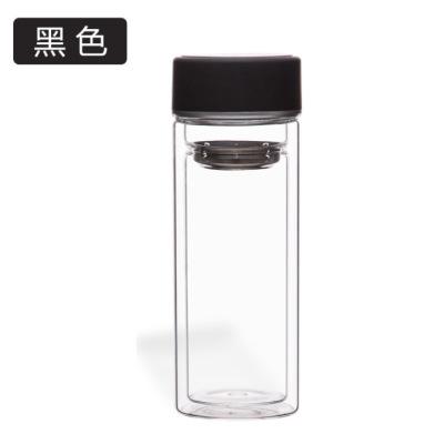 双层玻璃杯/耐高温茶杯/广告礼品杯印Logo/茶杯/个人杯300毫升