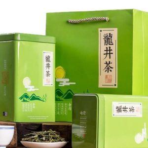 正宗龙井茶叶新茶豆香型高山龙井茶绿茶茶叶500g