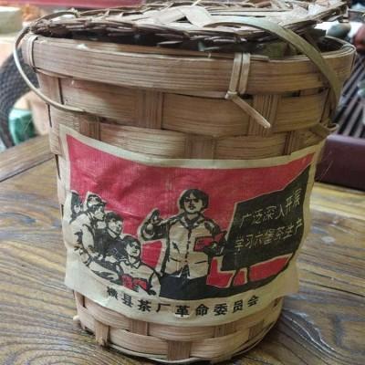 2000年陈年六堡茶广西横县厂 黑茶 800g/框