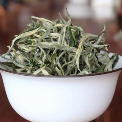 云南绿茶2021新茶银丝绿茶叶早春高山毛尖袋装特级500g散装清香型
