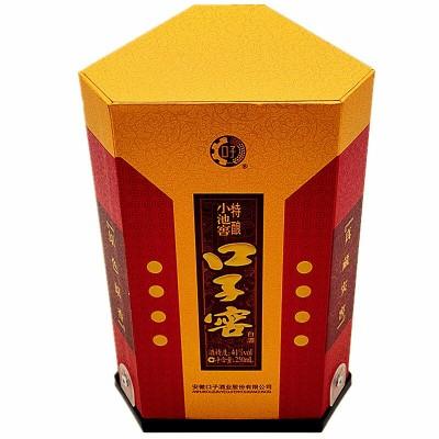 【整箱6瓶价】口子窖小池窖半斤装 41度45度250ml*6瓶 白酒