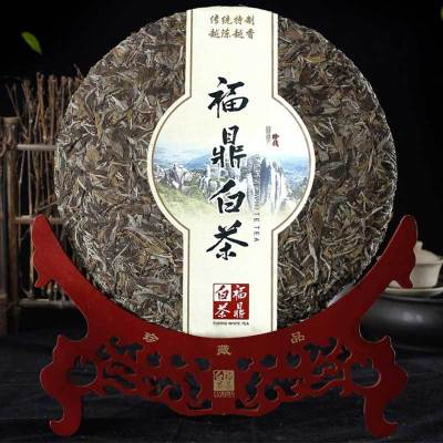 福鼎白茶大饼 牡丹王茶饼 老白茶白牡丹茶叶6斤白茶大饼礼盒装