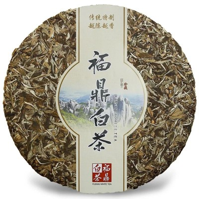 福鼎白茶 太姥山牡丹王茶饼 老白茶白牡丹茶叶6斤大饼礼盒装