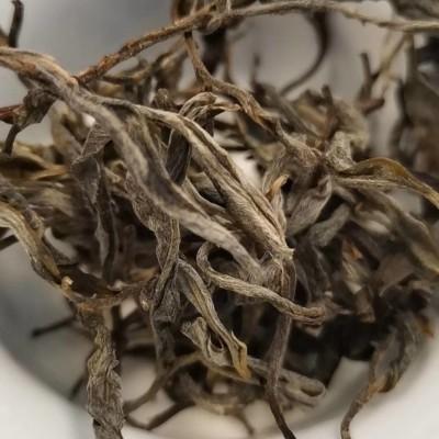 普洱茶散茶2020年 傣家古树 花香肆意汤质饱满 滋味清甜500克