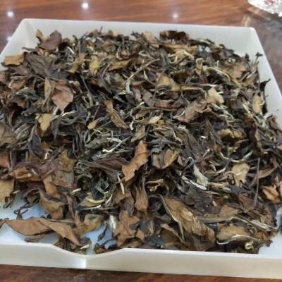 2014年高山日晒贡眉老白茶散茶1盒500克