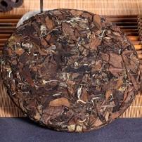 福鼎白茶福建特级茶叶高山老白茶茶饼350克 2015花香味