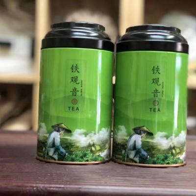 正宗安溪特产铁观音2020新茶特级浓香型兰花香乌龙茶罐装500克