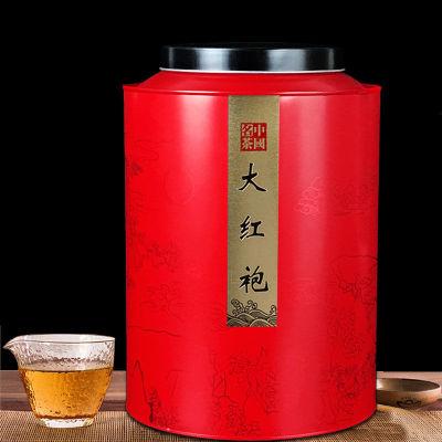 【一罐一斤】大红袍茶叶武夷岩茶大红袍茶叶散装乌龙茶礼盒装罐装