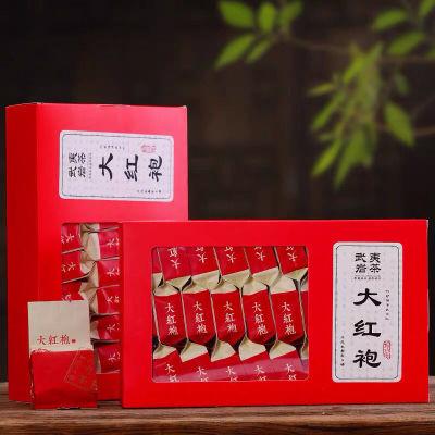 新茶武夷岩茶大红袍茶叶肉桂茶红茶乌龙茶叶批发浓香型礼盒装500g