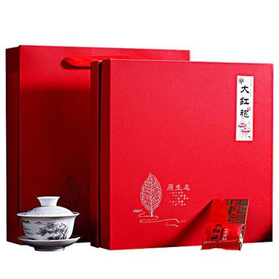 新茶武夷大红袍茶叶礼盒装送礼肉桂茶浓香型金骏眉正山小种岩茶